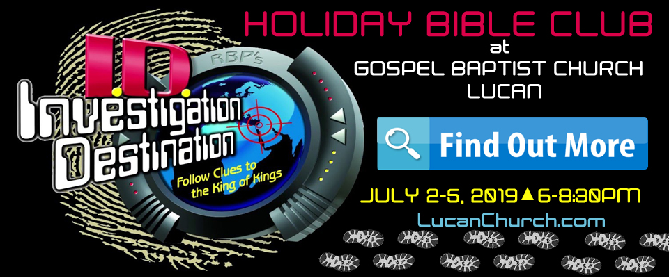 Holiday Bible Club 2019 Investigation Destination