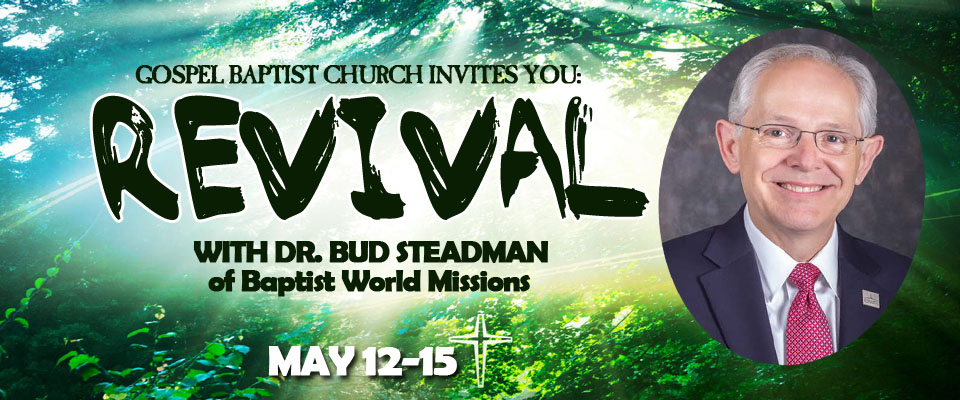 Spring Revival with Dr. Bud Steadman
