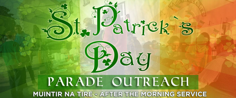 Irish Day St Patricks Day Outreach